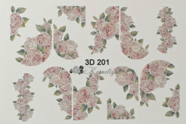 3D Waterdecal - 3D 201