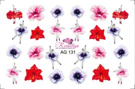 Korneliya Airbrush Waterdecal   AG 131