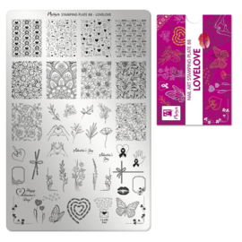 Moyra Stamping Plate 88 LoveLove