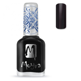 Moyra Stamping Nail Polish 12ml SP06 BLACK