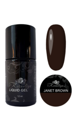 Korneliya Liquid Gel  Expert Collection JANET BROWN 12ml
