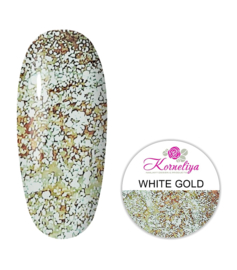Royal Glam Gel  White Gold 12 ml