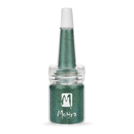 Moyra Glitter in Fles Nr. 10 Holo Turquoise