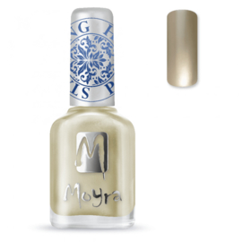 Moyra Stamping Nail Polish 12ml SP09 GOLD