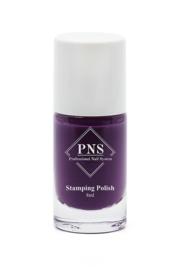 PNS Stamping Polish No.15 Aubergine