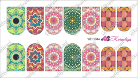 Water Decal - Nail Wrap WD 1044