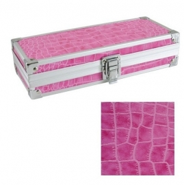Brush Box Hot Pink  / Penselen Box Fuchsia Roze