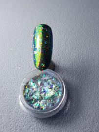 Korneliya Flakes Galaxy Green