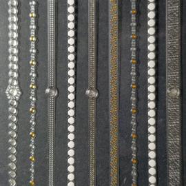 3D Juwel Stickons  Nr 12 Fingerchain