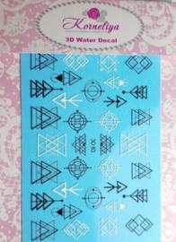 Korneliya 3D Waterdecal - 3D 083