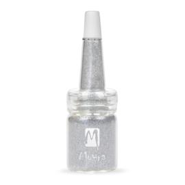 Moyra Glitter in Fles Nr. 13 Zilver