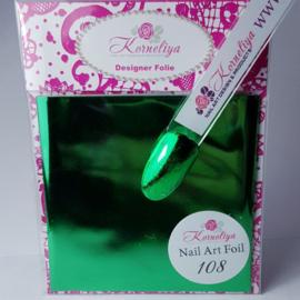 Korneliya Nailart Folie 108 Groen