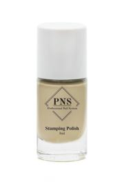 PNS Stamping Polish No.63 Zand Geel