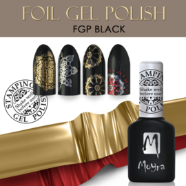 Moyra Foil UV Gel Polish 10 ml FGP01 Black