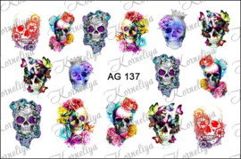 Airbrush Waterdecal   AG 137
