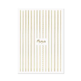 Moyra Nailart Strip Chain 01 Gold
