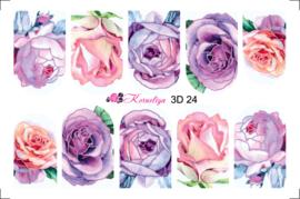 Korneliya 3D Waterdecal - 3D 024