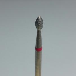 Korneliya Frees Bitje Diamant Druppel Rood 1,8 mm