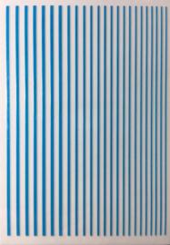 Korneliya Nailart Strip Neon Blue