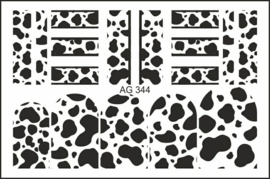 Airbrush Waterdecal   AG 344