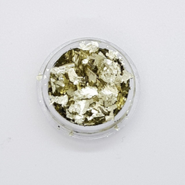 Folie Flakes Sahara Gold