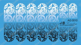 Airbrush Waterdecal   AG 0010 combi