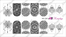 Water Decal - Nail Wrap WD 1045