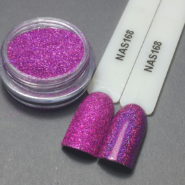 Nailart Decor Zand 168 Holografic Violet Pink