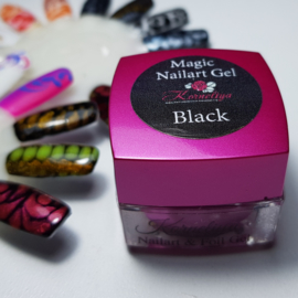 Magic Nailart Gel Black 5 ml