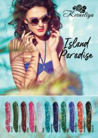 Poster ISLAND PARADISE B2 formaat (500x707mm)