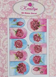 Korneliya 3D Waterdecal - 3D 071b