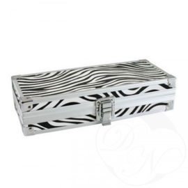 Brush Box Zebra  / Penselen Box Zebra