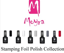 Moyra Foil Polish For Stamping 5 flesjes