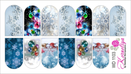 Water Decal - Nail Wrap WD 1103