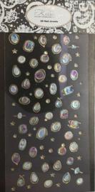 3D Nail Jewels XL - XL01 Stones and Stars