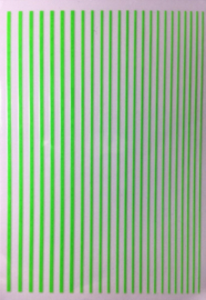Korneliya Nailart Strip Neon Groen