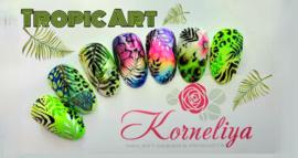 Online Nailart Cursus Tropic Art