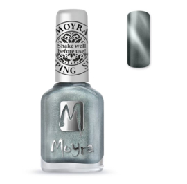 Moyra Stamping Nail Polish 12ml SP30 CAT EYE SILVER