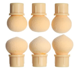 CHIMP Aero Puffing Spons / Dotting Sponge set 6 stuks