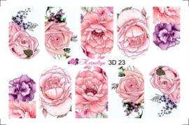 Korneliya 3D Waterdecal - 3D 023