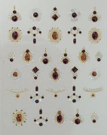Korneliya 3D Nail Jewels DeLuxe - DL13 Shiny Amber