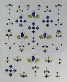 Korneliya 3D Nail Jewels DeLuxe - DL09 Shiny Saphira