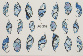 Airbrush Waterdecal   AG 252