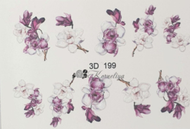 3D Waterdecal - 3D 199