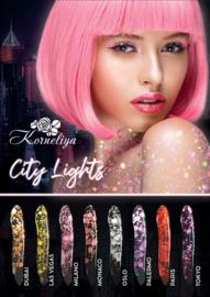 Poster CITY LIGHTS B2 formaat (500x707mm)