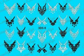 Korneliya RhineStone decal 3DS 006