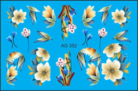 Airbrush Waterdecal   AG 352