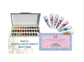 Moyra Mijello 33 Misson Gold Class Watercolours palette