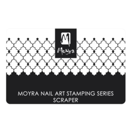 Moyra Scraper Nr7 Black and White