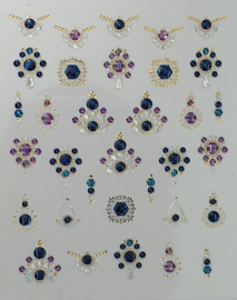 3D Jewels  DeLuxe - DL 15 Shiny Fluorite